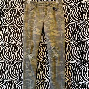 AE Camo Jeans